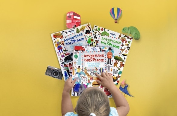 """Lonely Planet Kids """"Adventures In"""" series keeps young hands and minds busy while learning about the world"""