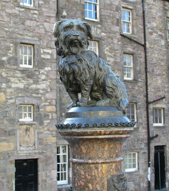 Greyfriars Bobby commemorates one of Edinburgh's most loved residents. (Photo credit: Pilar Clark)