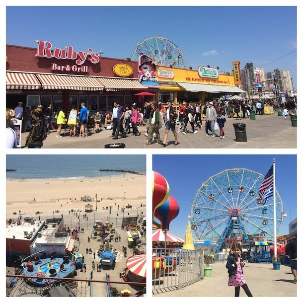 10 Best Free New York City Activities for Families - Hit up the beach and other fun on Coney Island