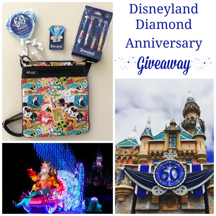 Disneyland Diamond Anniversary Celebration Giveaway