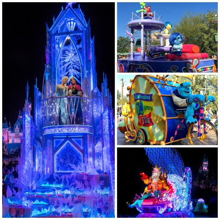 Disneyland Diamond Anniversary Parades