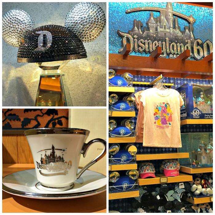 Disneyland Diamond Anniversary Souvenirs