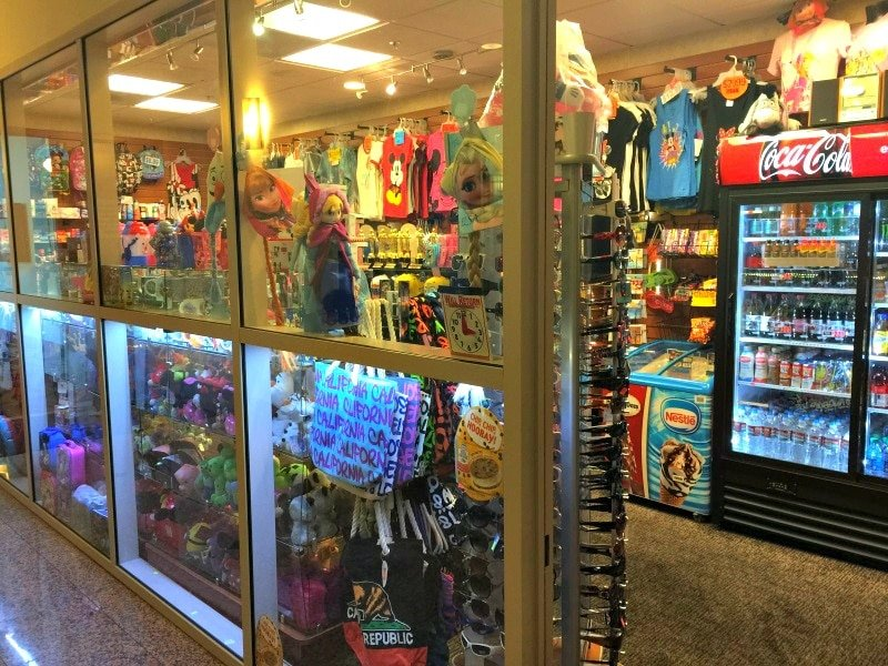 Purchase all sorts of snacks, drinks and Disneyland souvenirs at the Embassy Suites Anaheim South on-site gift shop