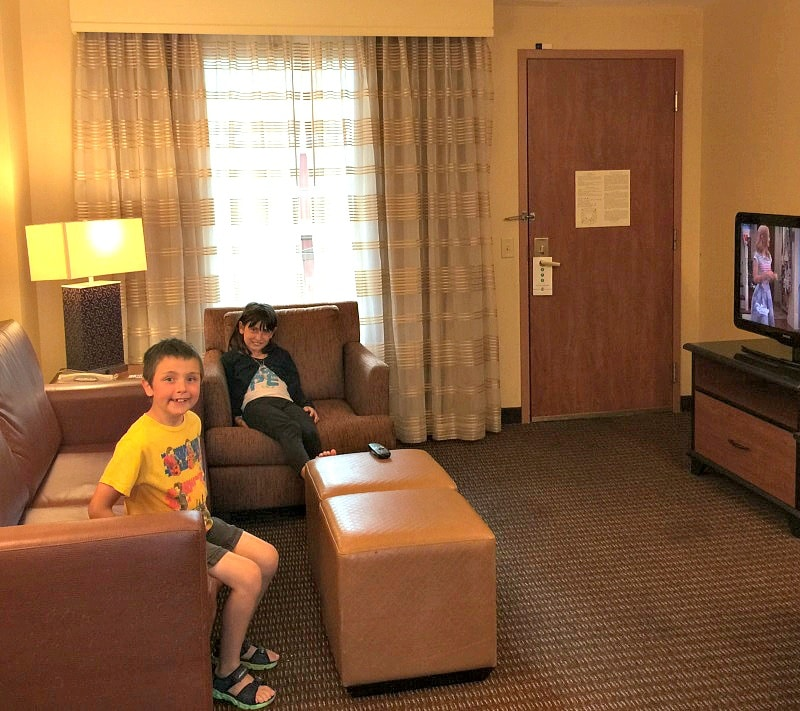 Kids will feel at home at Embassy Suites Anaheim South near Disneyland