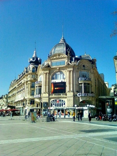 Montpellier's centre ville, or downtown - 10 Best Destinations in France for Families