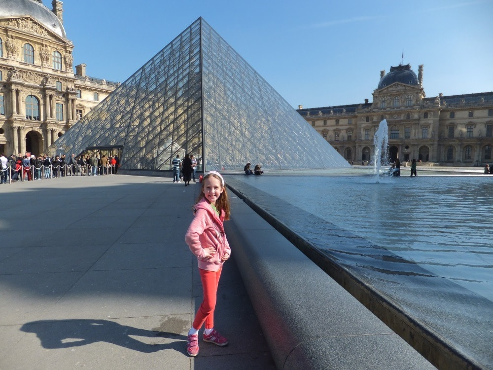 Visiting the Louvre in Paris, the City of Light