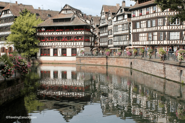 Lovely Alsatian architecture in Strasbourg - Top 10 Destinations for Families in France
