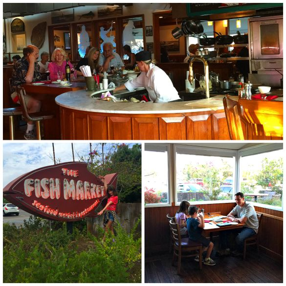 Fish Market serves up fresh seafood in a family-friendly atmosphere in Del Mar, California