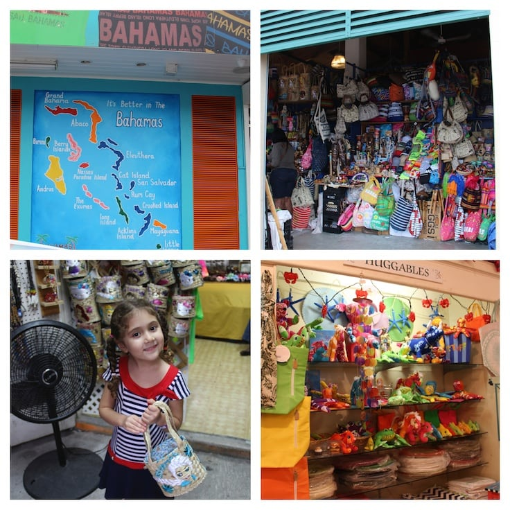 Five Things to Do on Nassau Paradise Island with Kids in the Bahamas - Shop the Straw Market and Bay Street on Paradise Island with kids