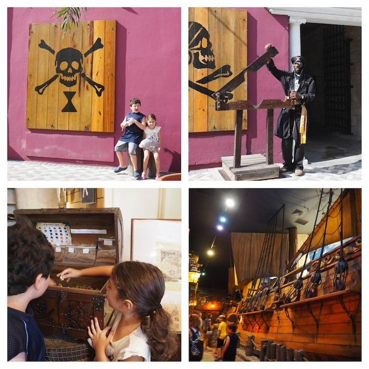 5 Things to Do on Paradise Island with Kids in the Bahamas - Little pirate fans can learn about The Golden Age of Piracy at The Pirates Museum of Nassau.