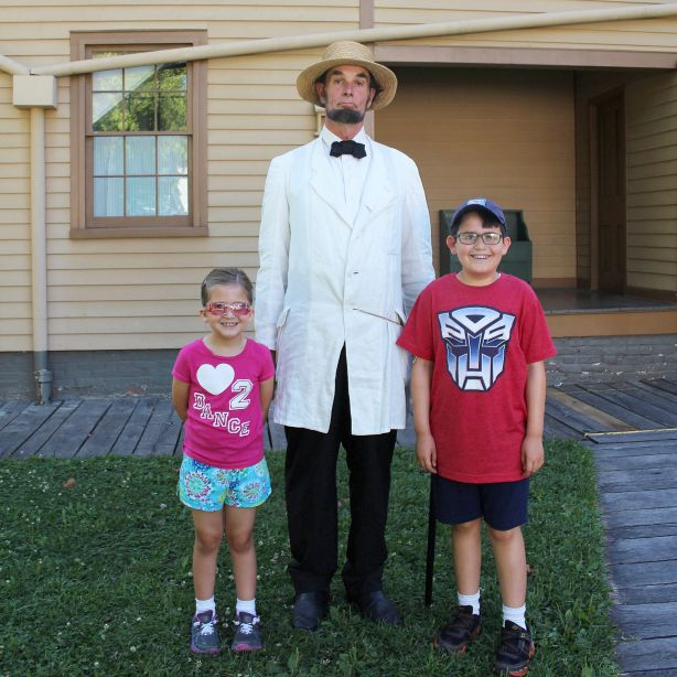 Keep an eye out for Abraham Lincoln Lincoln Home National Historic Site in Springfield, Illinois (Photo credit: Pilar Clark)