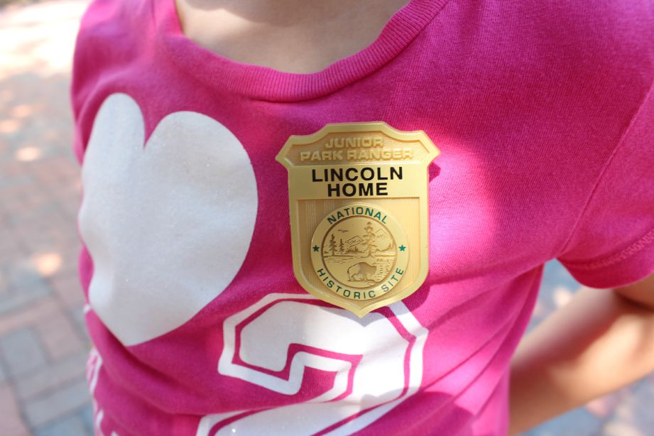 Challenge your kids to earn their Junior Rangers badges at the Lincoln Home National Historic Site in Springfield, Illinois