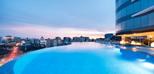 10 Best Embassy Suites Pools! Rooftop Pool: Embassy Suites by Hilton Santo Domingo Santo Domingo, Domican Republic
