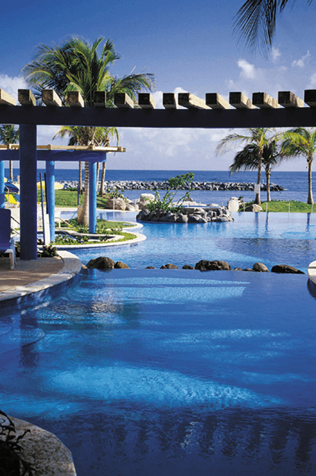10 Best Embassy Suites Pools! Beachfront Pool: Embassy Suites Dorado Del Mar Beach Resort Dorado, Puerto Rico