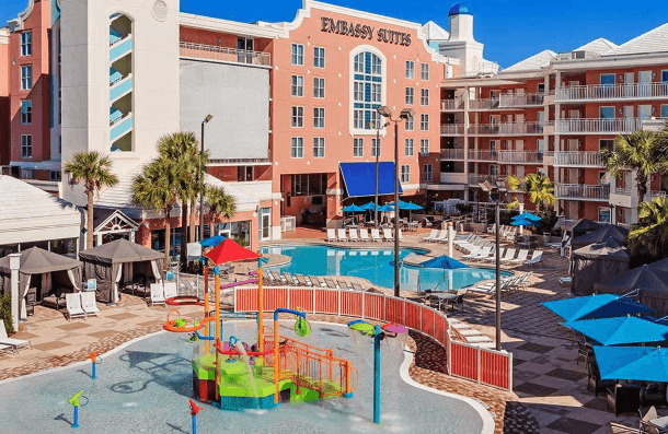 10 Best Embassy Suites Pools! Embassy Suites Orlando/Lake Buena Vista Resort
