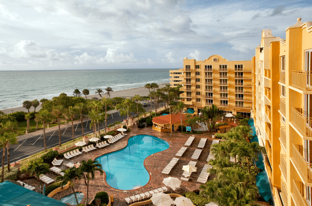 10 Best Embassy Suites Pools! Ocean View Pool: Embassy Suites Deerfield Beach - Resort & Spa