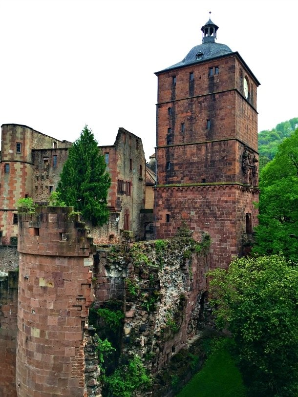 Heidelberg Castle remains partially in ruin today - Germany's Heidelberg with Viking River Cruises