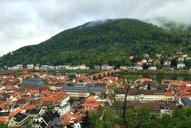 View from Heidelberg Castle - Germany's Heidelberg with Viking River Cruises