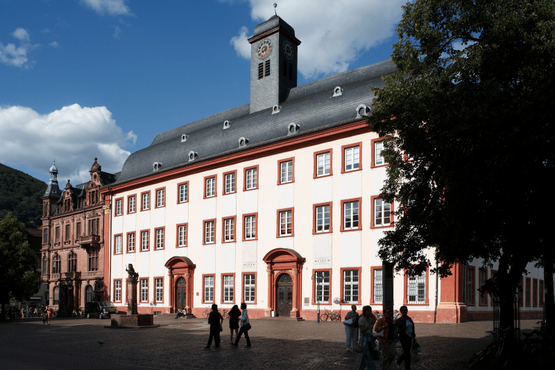 Just one portion of the sprawling Heidelberg University, Germany's first university