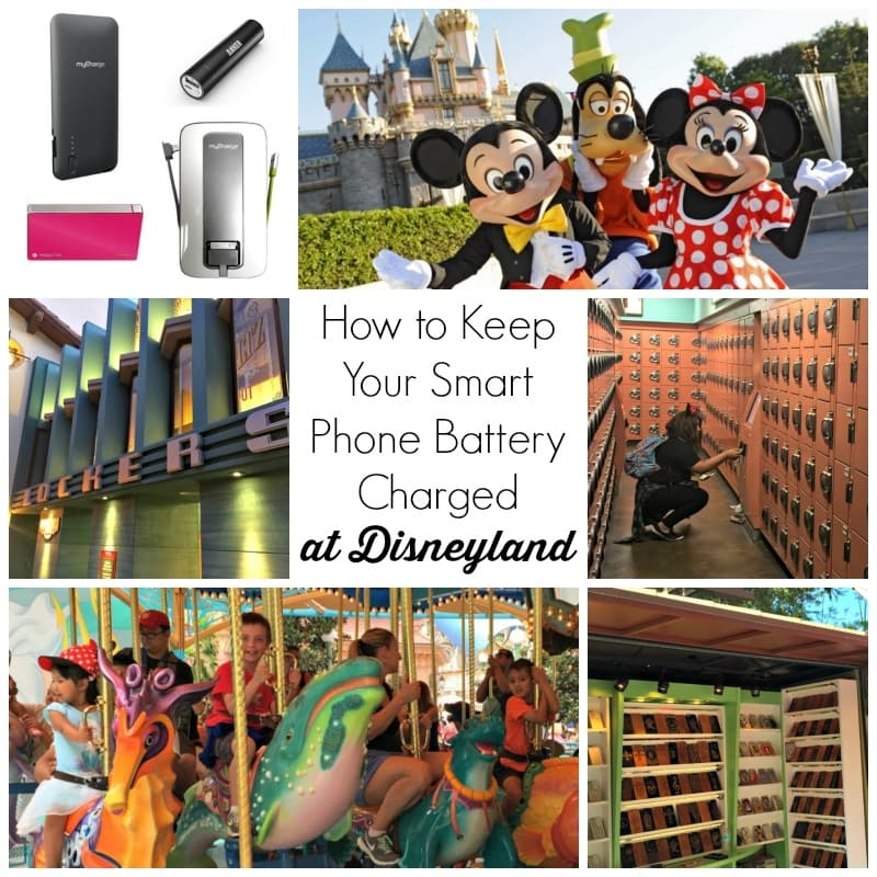 How to keep your smart phone battery charged at Disneyland