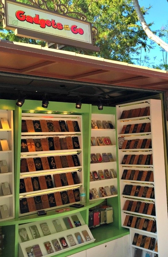 Purchase a pre-charged mobile charger at Gadgets on the Go in Downtown Disney (Photo credit: Colleen Lanin)