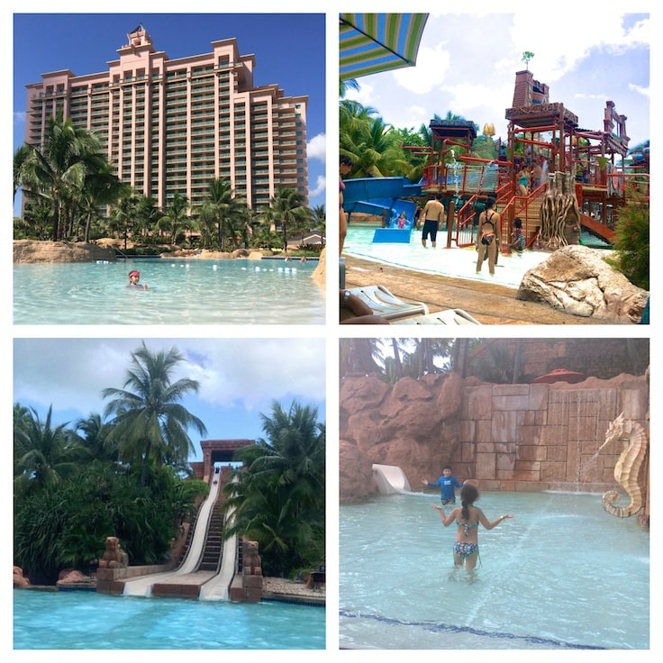 Top 20 Things to do at Atlantis Paradise Island Resort ~ Spend the day at Aquaventure, the largest water park in the Caribbean.