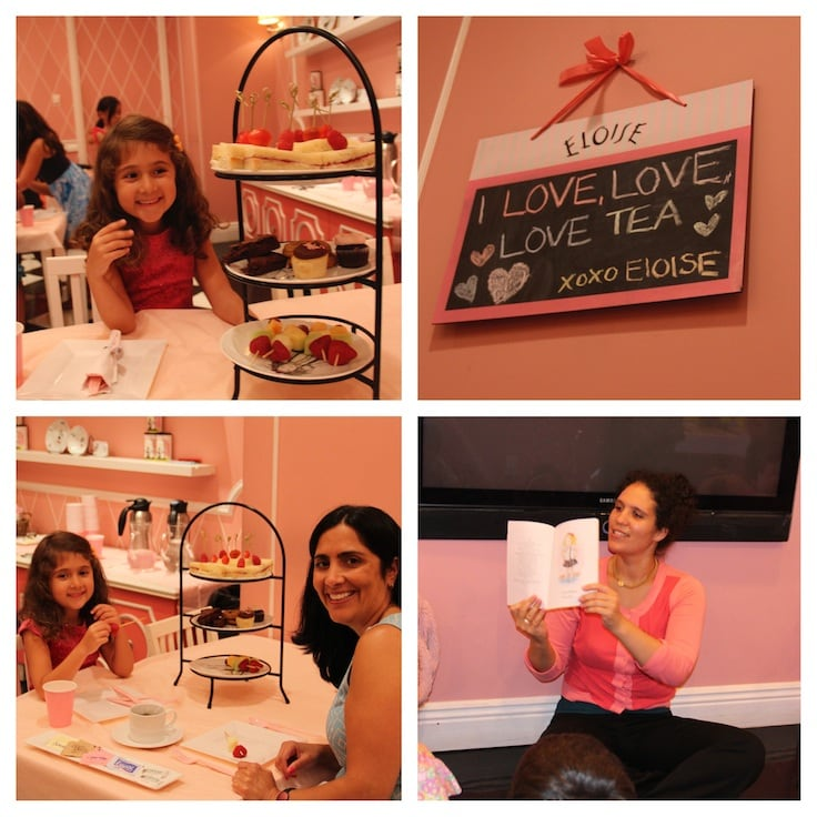 All Things Eloise at The Plaza Hotel ~ The Rawther Fancy Friday Tea at the Eloise Shop is a fun treat for young visitors.