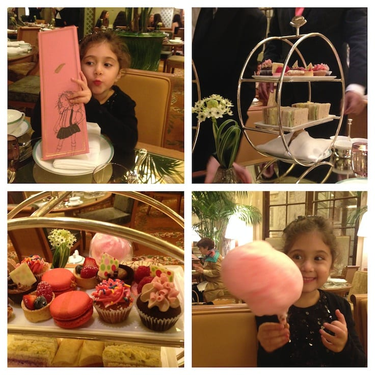 "All Things Eloise at The Plaza Hotel ~ Celebrate a special occasion with ""grown-up"" tea at The Plaza's Palm Court Restaurant."