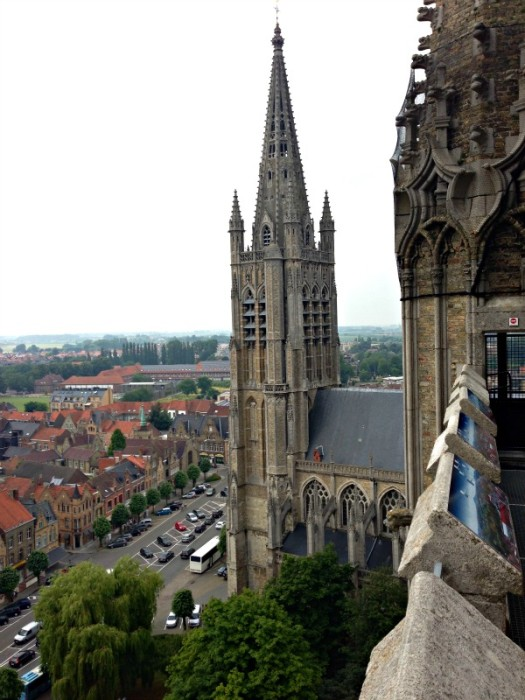 View of Flanders from the Ypres Belfry