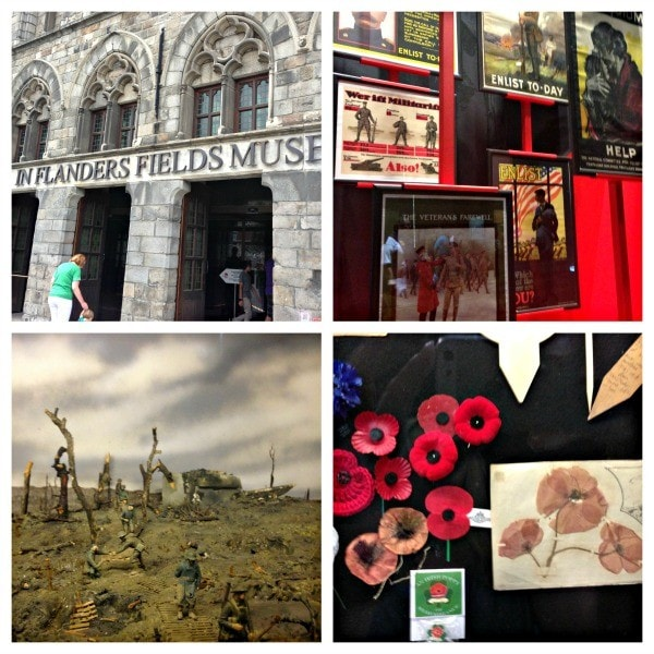 In Flanders Fields Museum is a must visit in Ypres, Flanders