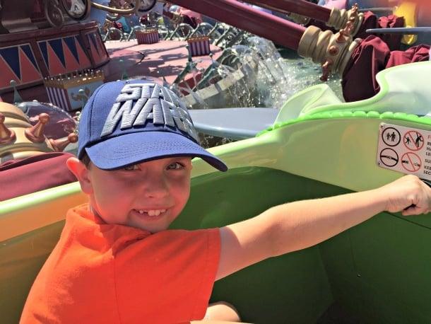 Mother-son Disneyland trip