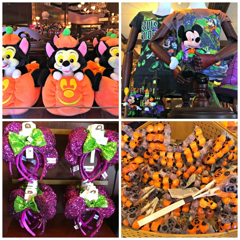 Halloween Time at Disneyland merchandise