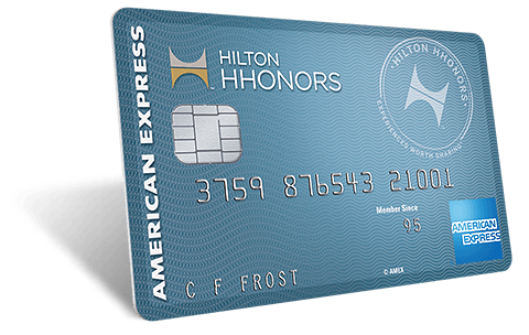 Use the Hilton Hhonors American Express card to rack up points for hotel stays and more