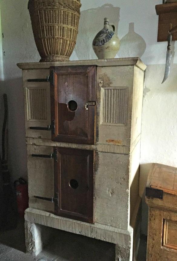 "Ice box ""refrigerator"" at Marksburg Castle"