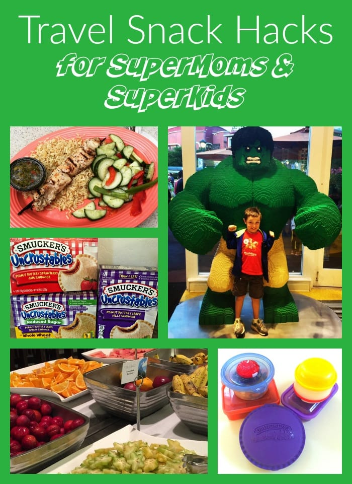 Travel Snack Hacks for SuperMoms and SuperKids, TravelMamas.com