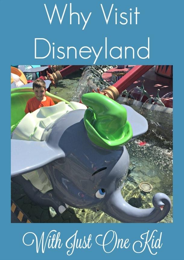 Why Visit Disneyland with Just One Kid