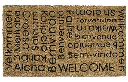 International welcome mat ~ Gift Ideas for Travel Lovers