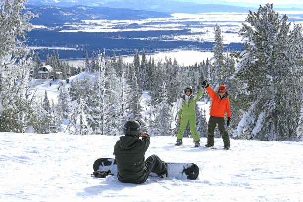 A ski trip at Brundage Ski Resort