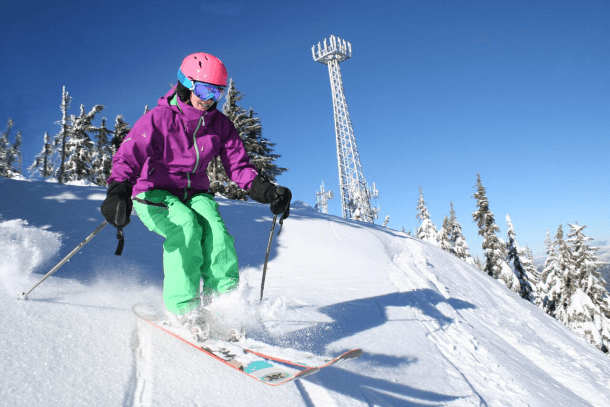 Goggles are an absolute must for skiers of all levels