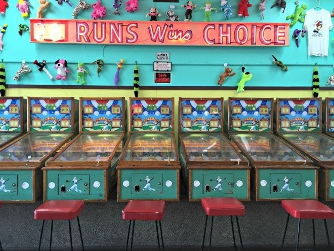 Old-timey arcade fun along the Myrtle Beach Boardwalk ~ 8 Myrtle Beach Family Activities and Attractions You'll Love