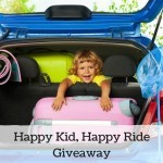 Sanity Saving Tips for Driving with Kids + A Happy Kids, Happy Ride Kit Giveaway