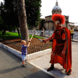 gladiator sword fights, coliseum rome, multigenerational family travel