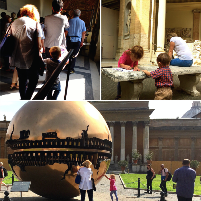 A treasure hunt at the Vatican captivates all ages ~ Multigenerational Vacation in Rome