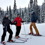Skiing with Canadian Olympic Legend Nancy Greene at Sun Peaks Ski Resort in British Columbia, Canada