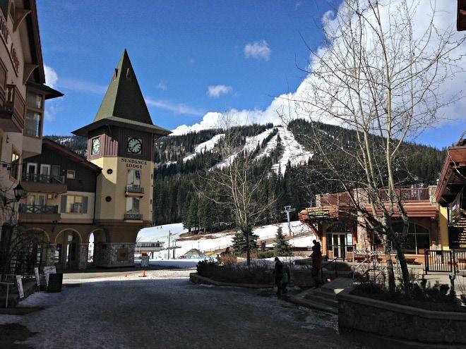 Snowbound at Sun Peaks Ski Resort