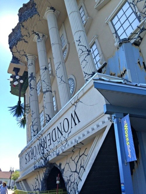 It's an upside-down world of scientific discovery at Wonderworks ~ 8 Myrtle Beach Family Activities and Attractions You'll Love