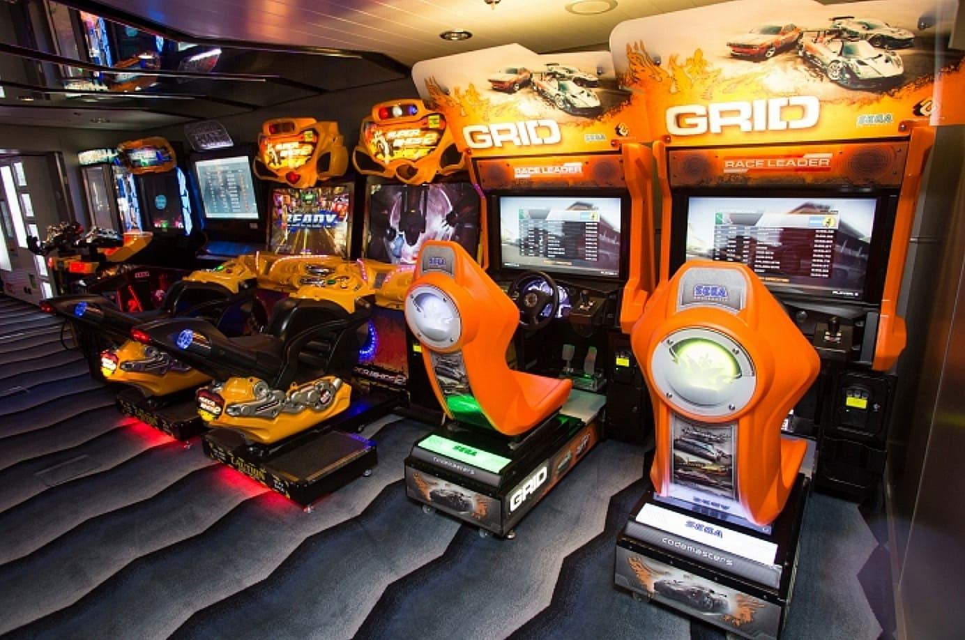 Royal Caribbean Anthem's Arcade