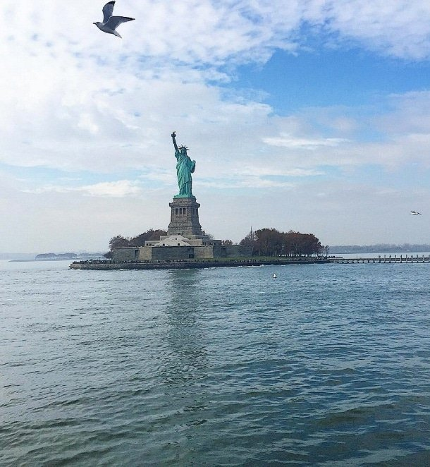 The Statue of Liberty is a must-see for any first-timer visiting New York City