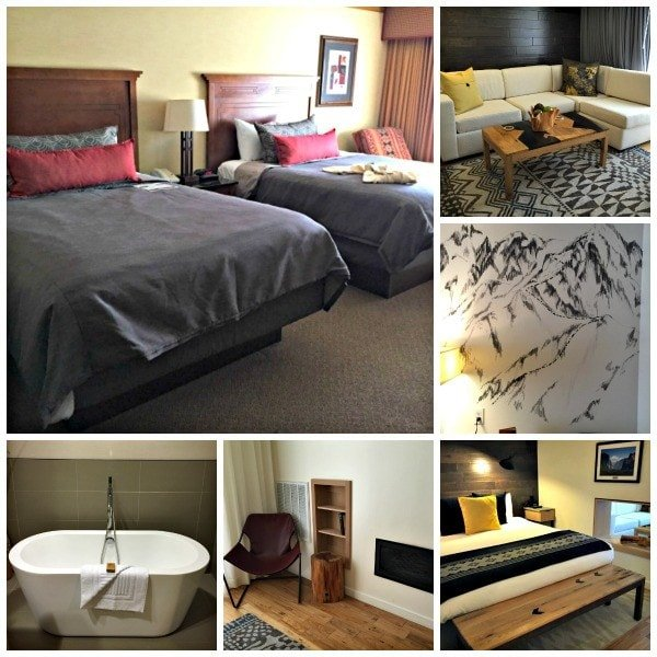 Choose from a wide range of room options at Tenaya Lodge