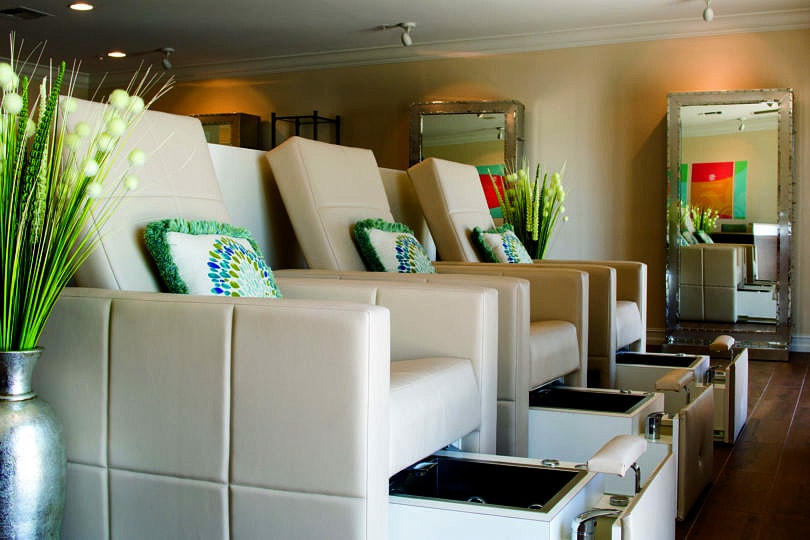A rainy day is the perfect excuse to indulge in a pedicure at Kay Casperson Lifestyle Spa ~ Fun Things to Do on Captiva Island and Sanibel Island When it Rains